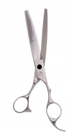 48 tooth curved scissors