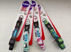 "Kazoo funky collar plastic clip ""doodles"" design"
