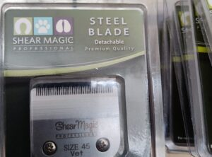 "Shear magic 45 ""vet"" blade"