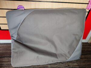 "Kazoo ""Verandah"" dog bed- Large, grey"