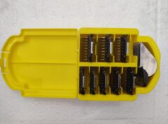 Stainless steel guide comb/snap on comb SET in case