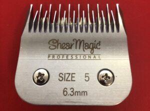Shear Magic – SKIPTOOTH #5 6.3mm Clipper Blade
