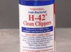 H-42 Clean Clippers Virucidal Anti-Bacterial – 8oz