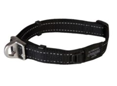 Rogz safety collar Medium BLACK