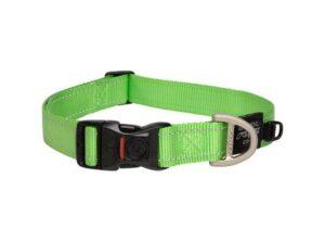 Rogz utility collar extra large LIME